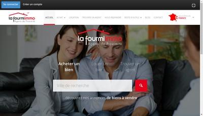 Site internet de La Fourmi