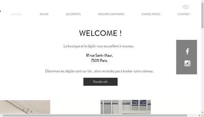 Site internet de La France a l'Envers
