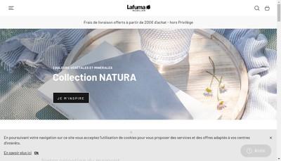 Site internet de Lafuma Mobilier SAS