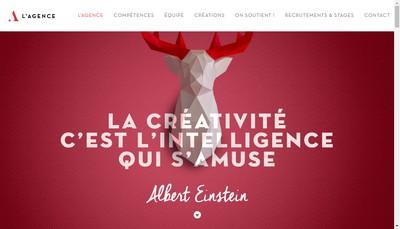 Site internet de L'Agence