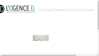 Site internet de L'Agence D