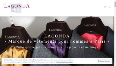 Site internet de Lagonda