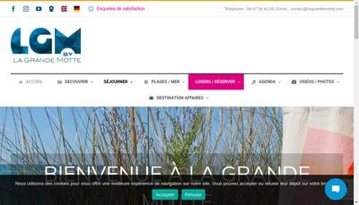 Site internet de Office Municipal de Tourisme
