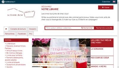 Site internet de La Grande Ourse