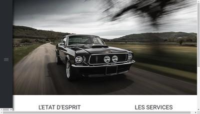 Site internet de La Grange aux V8