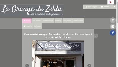 Site internet de La Grange de Zelda