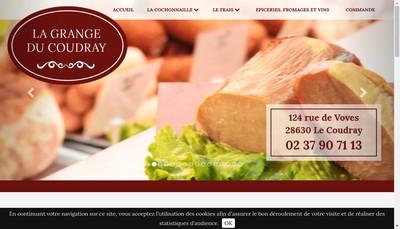 Site internet de La Grange du Coudray