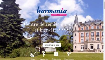 Site internet de Harmonia