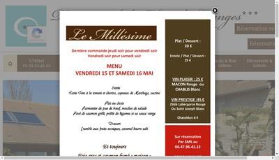 Site internet de SARL du Domaine de la Haie des Granges
