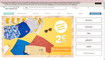 Site internet de La Halle