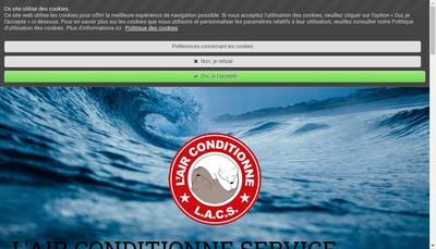Site internet de L'Air Conditionne Service
