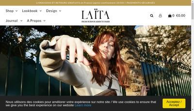 Site internet de Laita