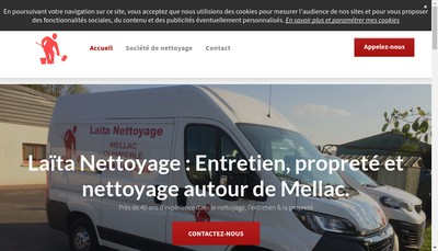Site internet de Laita Nettoyage
