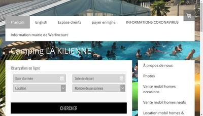 Site internet de Camping de la Kilienne