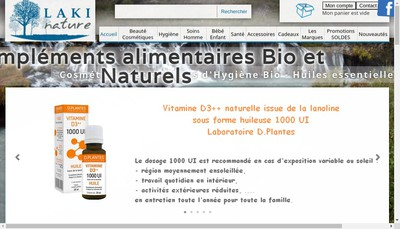 Site internet de Laki Nature