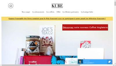 Site internet de Kube