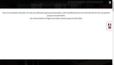 Site internet de L'Alcove