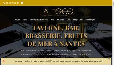 Site internet de La Taverne du Chateau