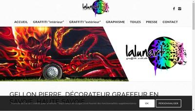 Site internet de Lalunart