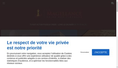 Site internet de La Magellance