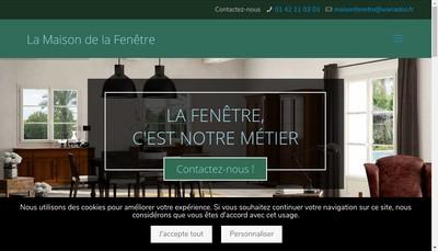 Site internet de La Maison de la Fenetre