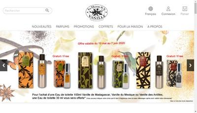 Site internet de Les Laboratoires Cosmetiques et Parfumeurs Associes