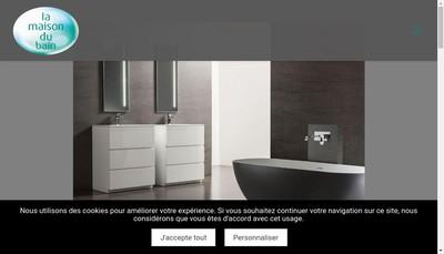 Site internet de La Maison du Bain