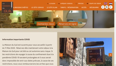 Site internet de La Maison du Guil