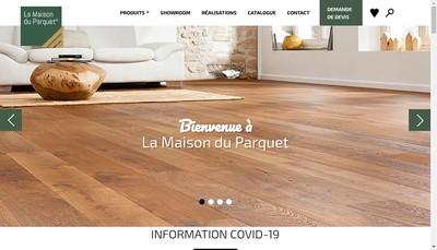 Site internet de La Maison du Parquet