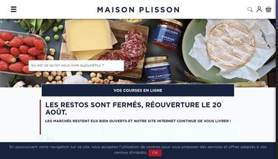 Site internet de La Maison Plisson