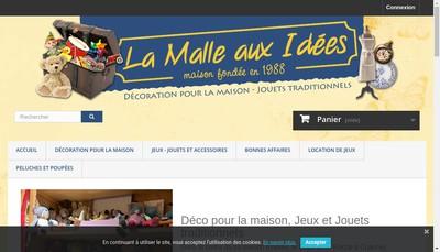 Site internet de La Malle aux Idees