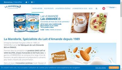 Site internet de Laboratoires la Mandorle