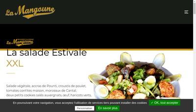 Site internet de La Mangoune