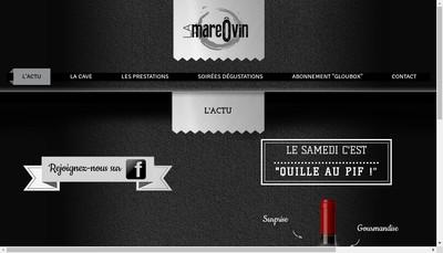 Site internet de La Mare O Vin