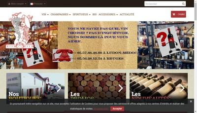 Site internet de La Medocaine