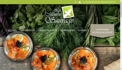 Site internet de La Menthe Sauvage
