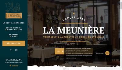 Site internet de La Meuniere