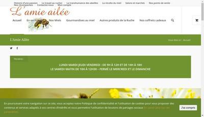Site internet de L'Amie Ailee