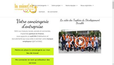 Site internet de La Minut'Rit