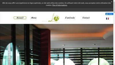 Site internet de La Mirada