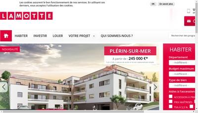Site internet de Airis Pays de Loire