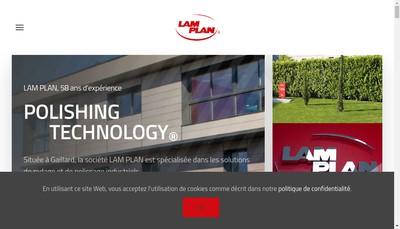 Site internet de Lam Plan SA