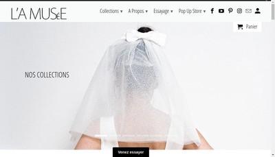 Site internet de SAS l'Amusee