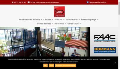 Site internet de Lamy Automatismes