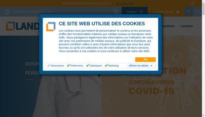 Site internet de Landauer Europe