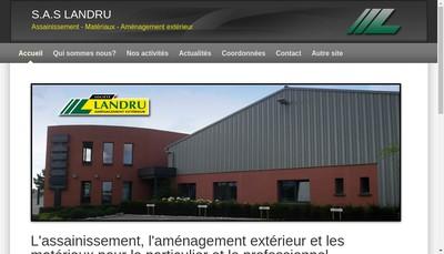 Site internet de SAS Landru