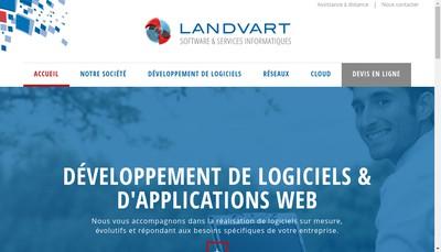 Site internet de Landvart