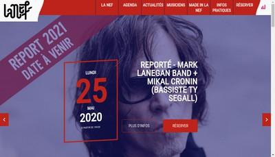 Site internet de La Nef