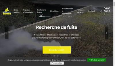 Site internet de Languedoc Etancheite