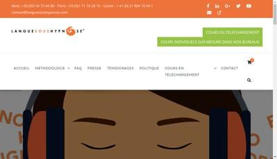 Site internet de Pascal Dilly Conseil